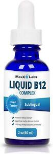 Best Vitamin B Complex Liquid - New Vitamin B12 Sublingual Drops - Advanced...