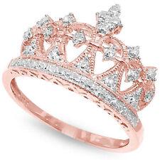 Natural Not Enhanced Diamond Rose Gold Fine Rings