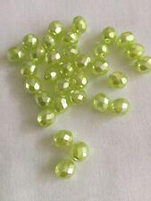 Czech Glass Faceted Beads 8 mm X. 25. (1)