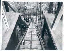 1950 Clyde Bedells Summer Home has Escalator Converted to Elevator Press Photo