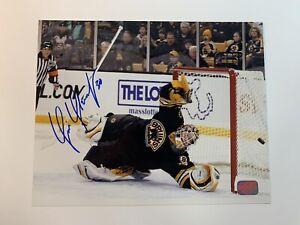 Tim Thomas Signed Bruins 8x10 Photo Autographed Bruins COA & Hologram