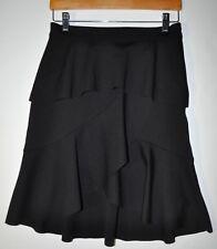 90ee71587c Club Monaco Size 6 Scubarella Skirt Soot Black Side Zip STUNNING