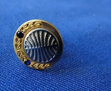 Vintage Pan Am 10K Gold Pin with 2 Saphires. Great Condition.
