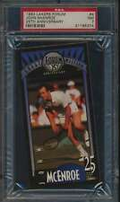 1993 Lakers Forum #4 John McEnroe 25th Anniversary Tennis PSA 7  NM 55608