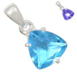 Colorchange Alexandrite (Lab.) 925 Sterling Silver Pendant Jewelry BP89745