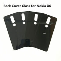 Back Cover for Nokia X6 Battery Cover Housing Door Glass Panel