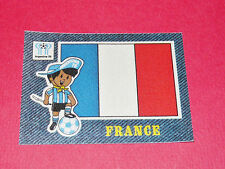PANINI FOOTBALL 1978 ECUSSON JEAN DENIM FRANCE ARGENTINA 78 WC WM MUNDIAL