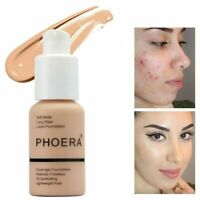 Coverage Concealer Moisturizing Cosmetic PHOERA Liquid Foundation Precious BT