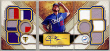 2017 Topps Triple Threads Deca Booklet CLAYTON KERSHAW Jersey Patch Auto 6/10 !!