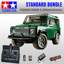 TAMIYA Land Rover Defender 90 RC coche estándar Bundle - 58657