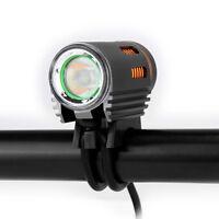 Floodlight 1800 LM LED Bike Bicycle Night Light Headlight Kit Double Switch Lamp