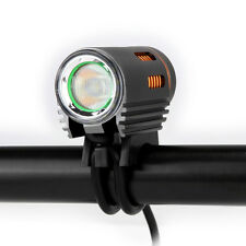 Floodlight 1800 LM LED Bike Bicycle Night Light Headlight Kit Double Switch Lamp
