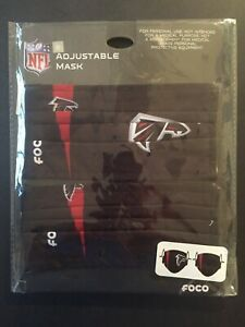 Atlanta Falcons Licensed 2 Pack Adult Face Mask Covering -50% Off SRP! FREE S&H!