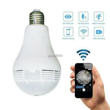 960P Wifi Hidden IP Camera Light Bulb 360 Degree Night Vision Bulb B98B