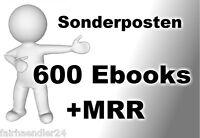ÜBER 600 ENGLISCHE KURZ-EBOOKS / SAMMLUNG Geld verdienen etc MRR WOW Ebook NEU