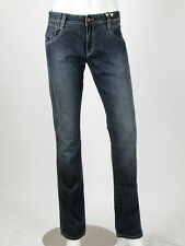 Parasuco -Size 27- $120 Faded Blue Ladies Extra Low Rise Slim Jeans NEW 8001ARM