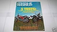 MARCH 1976 CYCLE WORLD motorcycle magazine TRANS AMA