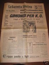 GAZZETTA DELLO SPORT 11/06/1967 GIMONDI VITTORIA GIRO !