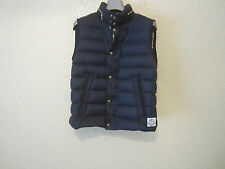 Moncler Gamme Bleu Quilted Down Filled Navy Vest