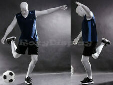 Male Fiberglass Eye Catching Abstract Mannequin Dress From Display #Mz-Tq1