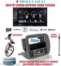 KENWOOD RADIO DDX372BT + SCOSCHE GM5201AB 2010 & UP CHEVY CAMARO DASH KIT INSTAL