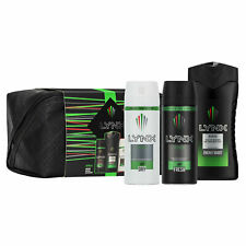Lynx Africa Washbag Gift Set Shower Gel Body Wash Deodorant Antiprespirant