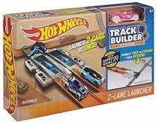Hot Wheels Workshop Track Builder System 2 Lane Launcher Accessories NEW