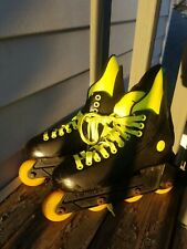 Vintage, 1990s, City Heat Variflex, In Line Yellow size 8