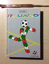 """DIARIO/CALENDARIO CAMPIONATO MONDIALE DI CALCIO """"ITALIA '90"""" - CON BRACCIALETTO"""