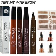 New 5 Colors  3D Liquid Ink Microblading Tattoo Eyebrow Pen  Waterproof Fork Tip