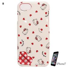 Gourmandise Sanrio Hello Kitty iPhone 7 patterned all over ver Hard Case san-61