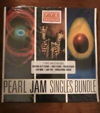 "Pearl Jam FYE Exclusive Vinyl Bundle 6 7"" Singles Brand New Sealed SOLD OUT"