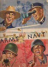 1943 Army-Navy Program Midshipmen Blank Cadets RARE!!
