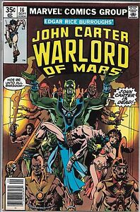JOHN CARTER WARLORD OF MARS #16 (VF/NM) BRONZE AGE