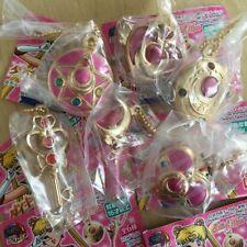 Sailor Moon - Key Chain Die cast Charm - Stick Brooch Compact