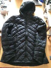 New w/o tags Ibex women Mixed Route puffer jacket black M medium wool+down coat