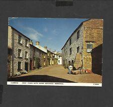 Judges  Colour Postcard Cumbria Dent Town -Adam Sedgwick Memorial posted