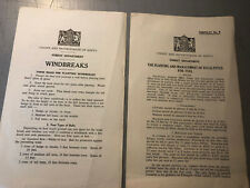 Lot 2 Forestry Pamphlets Colony And Protectorate Of Kenya Eucalyptus Fuel Windbr