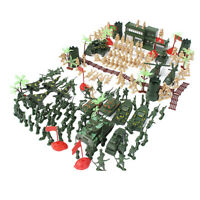 5cm Action Figures Army Men Soldier Military Playset with Vehicles 188pcs