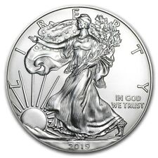 2019 Silver American Eagle 1 oz .999 Silver USA Made Dollar PRE-SALE BU Coin
