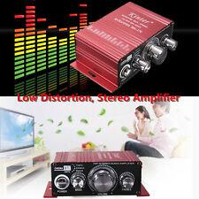 "Mini 2CH Hi-Fi Stereo Audio Verstärker Amplifier DVD MP3 Auto KFZ LKW Motorrad """