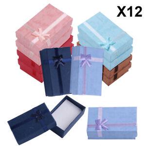 12xHigh Quality Jewellery Gift Boxes  Necklace Bracelet Box Set Bangle Earring