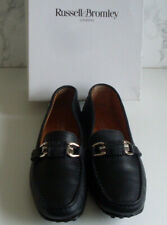 RUSSELL BROMLEY Womens Moccasin Loafer Court Flat Shoes Size EU 37.5 UK 4.5