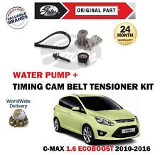 für Ford C MAX 1.6 EcoBoost 150BHP 2010> ZAHNRIEMEN KIT + WASSERPUMPE SET