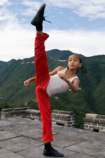 Jaden Smith The Karate Kid 11x17 Mini Poster kicking