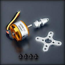 A2208-8T 2600KV Brushless Outrunner Motor For RC Airplane Aircraft