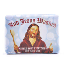 Jesus Soap - And Jesus Washed Soap