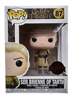 Funko Pop Exclusive Ser Brienne Of Tarth 87 Game Of Thrones Vinyl Figure New