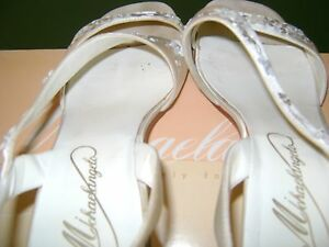 MICHAELANGELO BRIDAL SHOES FROM DAVIDS BRIDAL