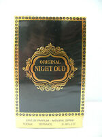 ORIGINAL NIGHT OUD Eau De Parfum Spray 100ml / 3.4 fl.oz. NEW IN SEALED BOX